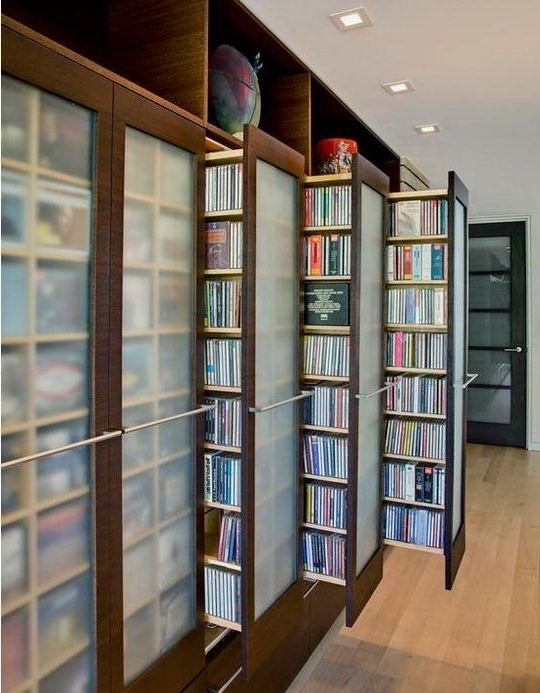 Home Library Shelving Inside Famous Neat Home Library Idea (View 4 of 15)