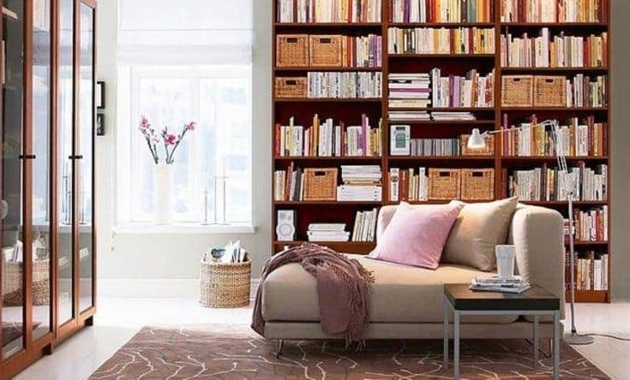 Home Library Shelving Pertaining To Most Recent Home Library Shelving Design (Gallery 7 of 15)