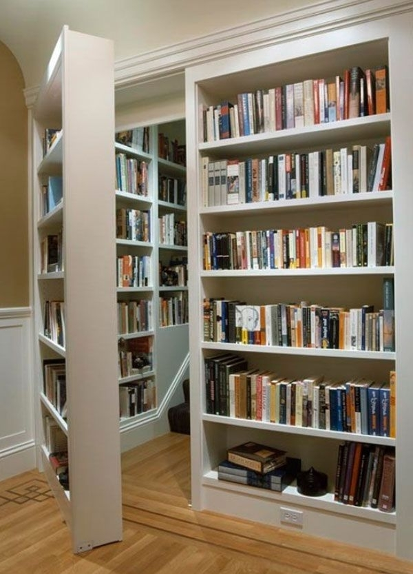 Home Library Shelving Regarding Well Known 19 Best Home Library Design Ideas Images On Pinterest (View 6 of 15)