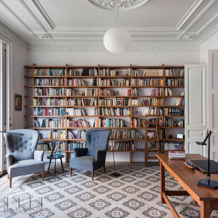 Home Library Shelving System With Fashionable 99 Best Modern Home Libraries Images On Pinterest (Gallery 11 of 15)