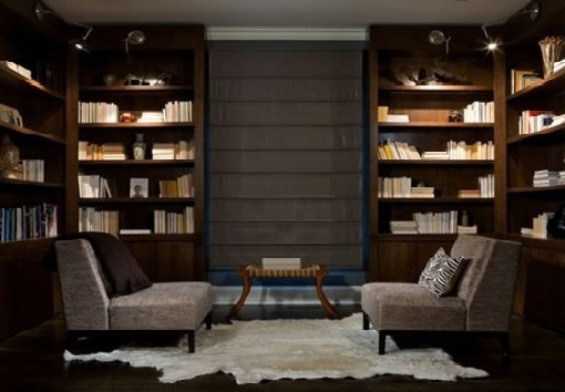 Home Library Shelving System With Favorite Home Library Design Ideas (Gallery 3 of 15)