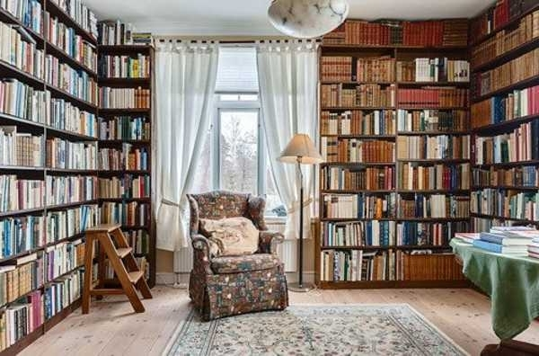 Home Library Shelving With Regard To Well Known 25 Creative Book Storage Ideas And Home Library Designs (View 10 of 15)