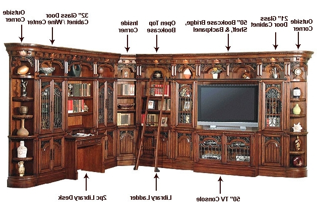 Home Library Wall Units In Well Known Parker House Entertainment Wall Unit Barcelona Ph Bar (View 14 of 15)