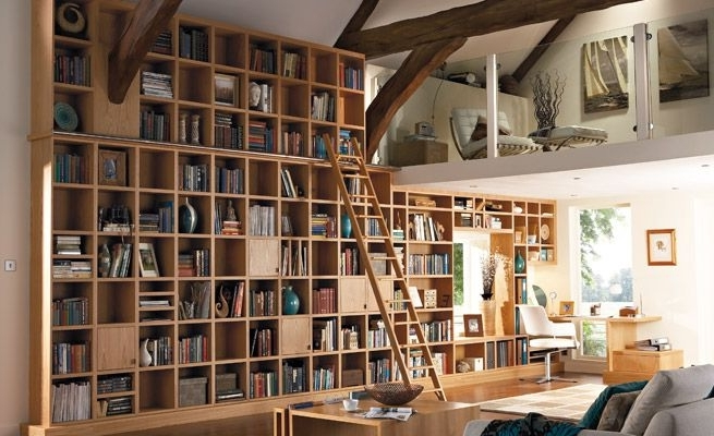 Home Library's Furniture (View 7 of 15)