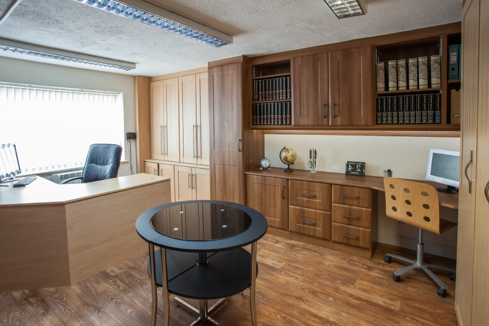 Home Office Furniture In Lincoln – Robes & Rails Throughout Most Popular Fitted Office Furniture (View 12 of 15)