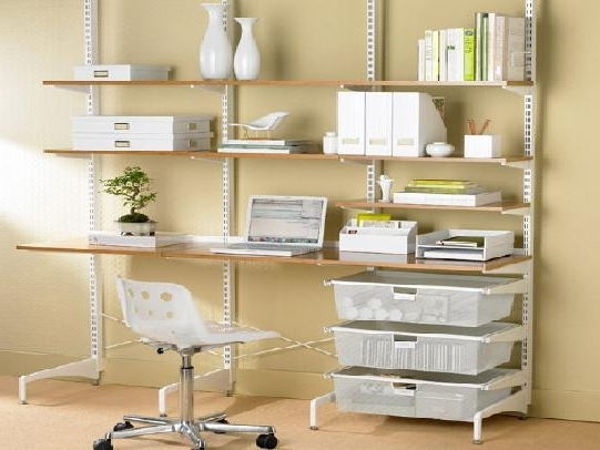 Home Shelving Systems Pertaining To Widely Used Wall Mounted Shelving Systems To Use As Storage In Your Home (View 7 of 15)