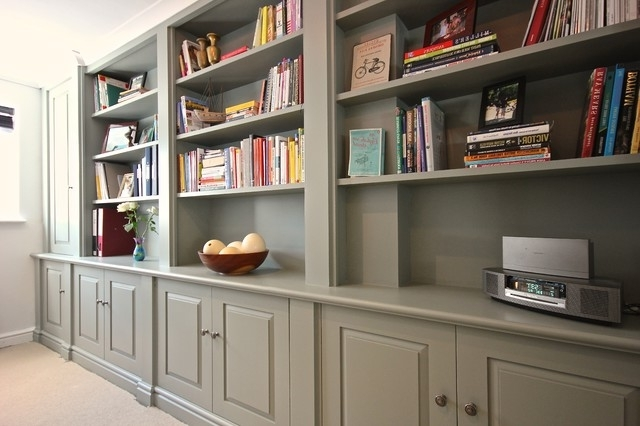 Home Study Furniture – Traditional – Home Office & Library Within Preferred Bespoke Study Furniture (View 9 of 15)