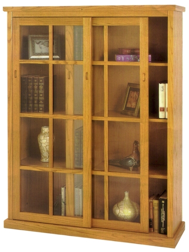 Featured Photo of Bookcases With Sliding Glass Doors
