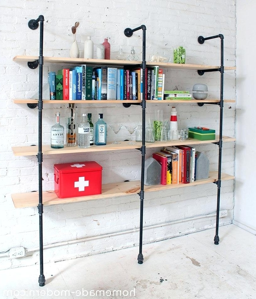Homemade Bookcases Best Ideas About Homemade Bookshelves On With Latest Homemade Bookcases (View 7 of 15)