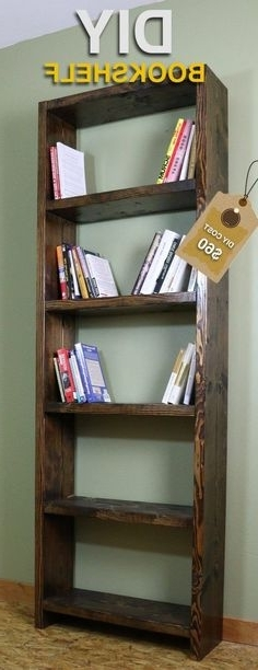 Homemade Bookcases For Preferred How To Make Bookshelves (View 7 of 15)