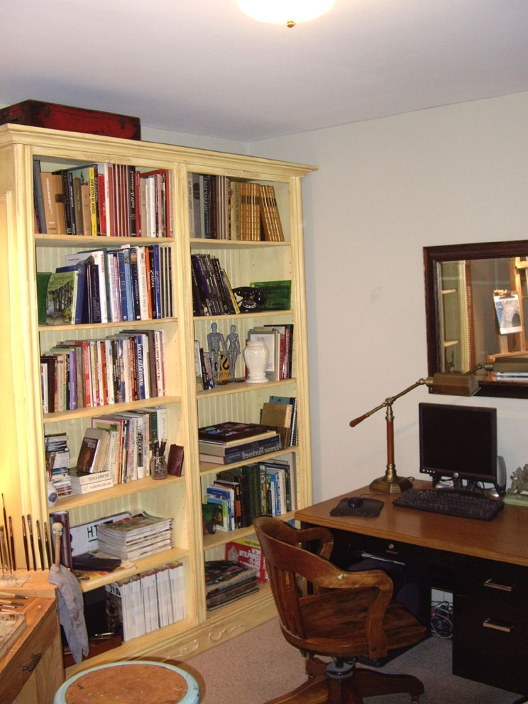 Homemade Bookcases Intended For Widely Used Design Ideas: Smart Homemade Bookshelves With Exceptional Shape (View 9 of 15)
