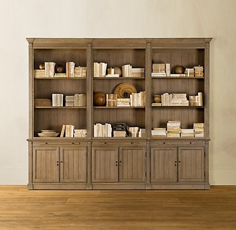 Featured Photo of Bookcases With Bottom Cabinets