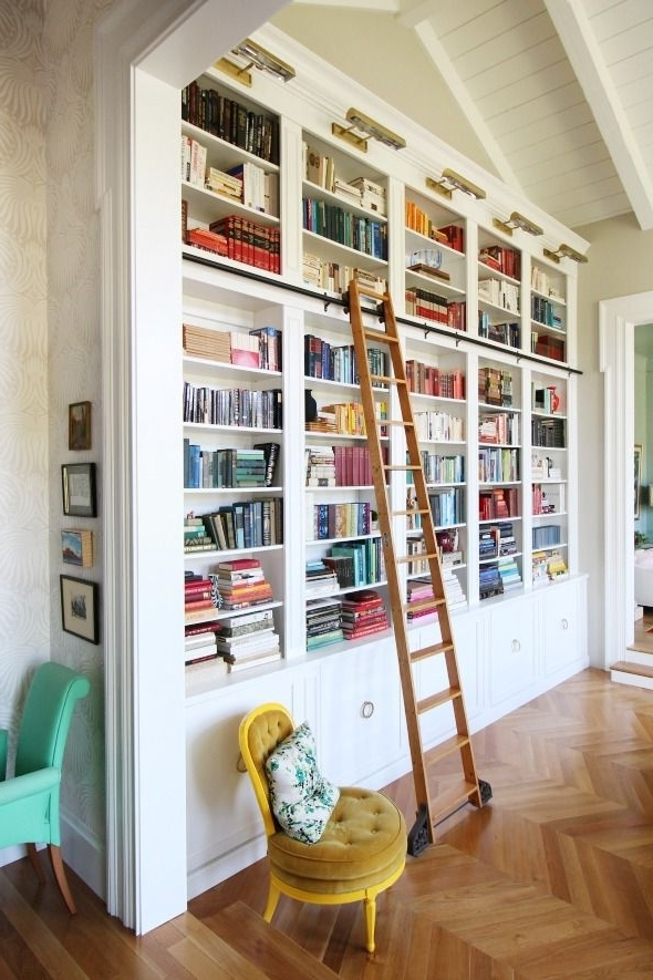 Featured Photo of Bookcases With Ladder