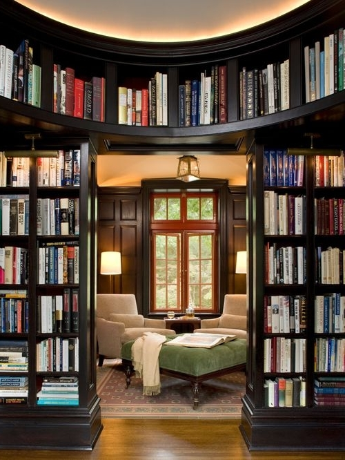 Houzz Pertaining To Well Known Library Bookcases (View 5 of 15)