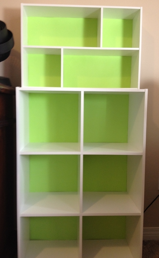 How I Dressed Up Cheap Modular Shelving – Snappy Living Pertaining To Most Current Cheap Shelving Units (View 7 of 15)