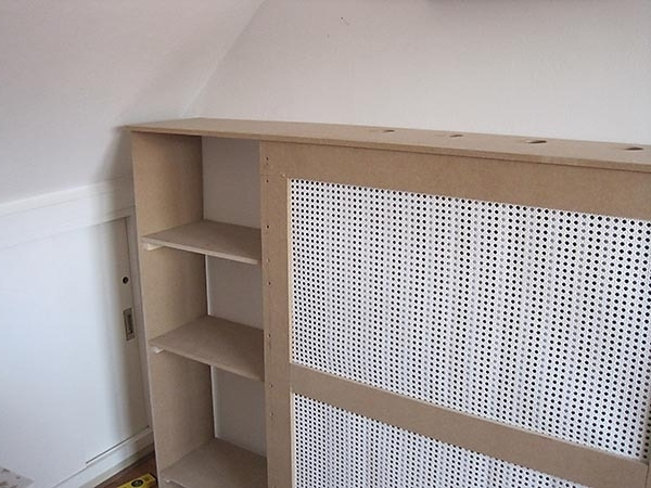How To Build A Radiator Cover Inside Well Liked Radiator Cover Bookshelves (View 4 of 15)