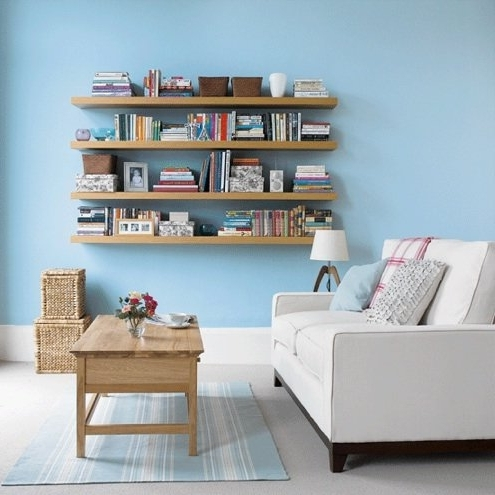 How To Install Floating Shelves – Bob Vila With Popular Floating Bookcases (View 10 of 15)