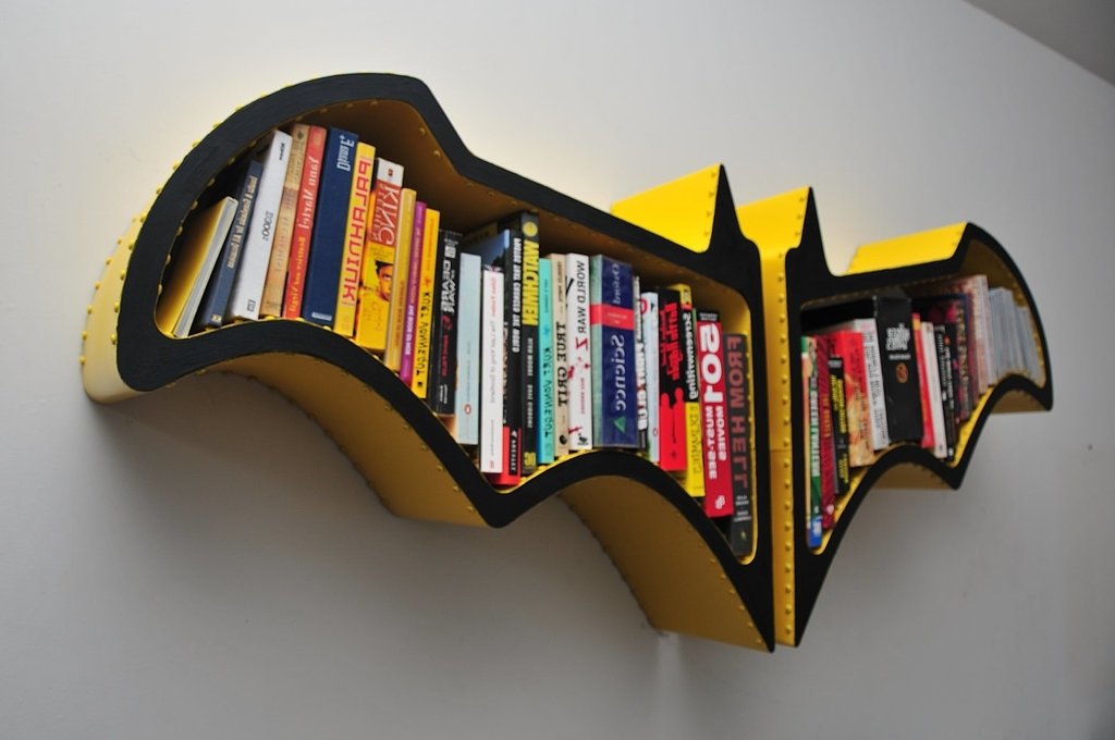 How To Make Batman Bookshelf Diy – Youtube (View 10 of 15)