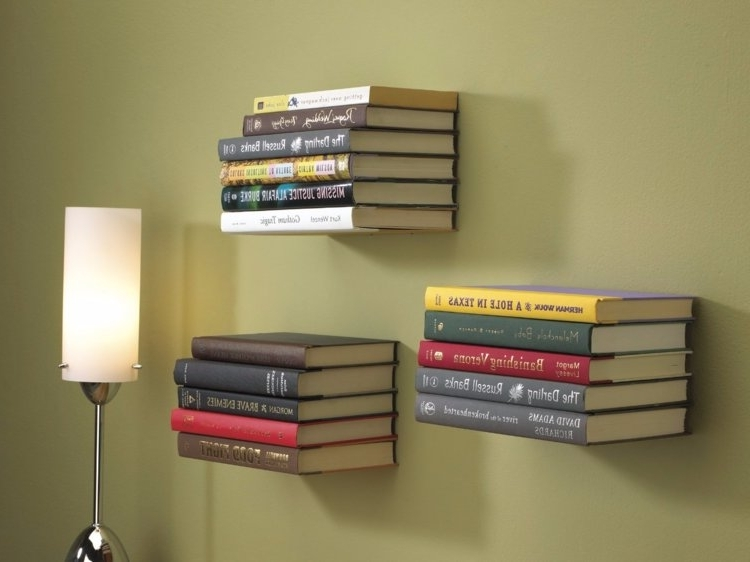 How To Make Floating Bookshelves – Insider Inside Recent Bookshelves (Gallery 13 of 15)