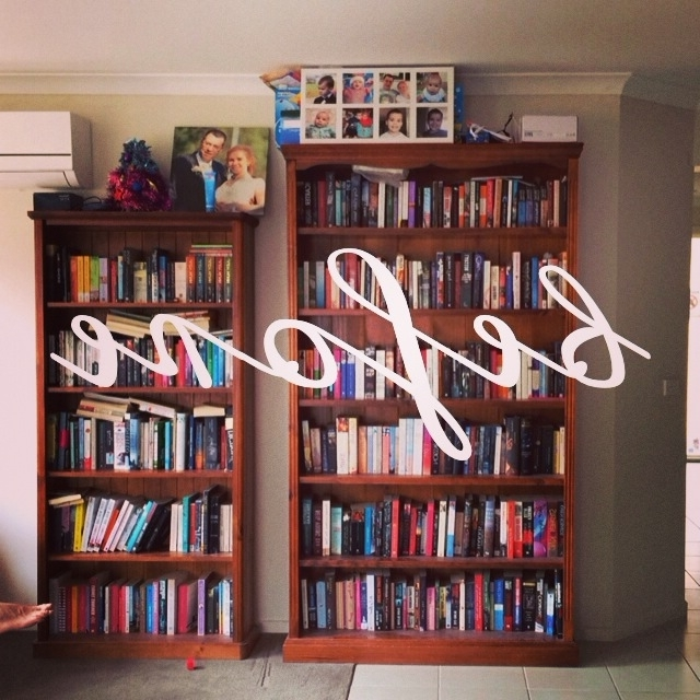 Huge Bookshelves In Widely Used The Before & The After: Rearranging My Bookshelves (Gallery 7 of 15)