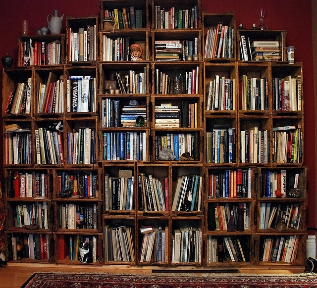 Huge Bookshelves With Famous 22 Best Box Shelves Images On Pinterest (View 8 of 15)