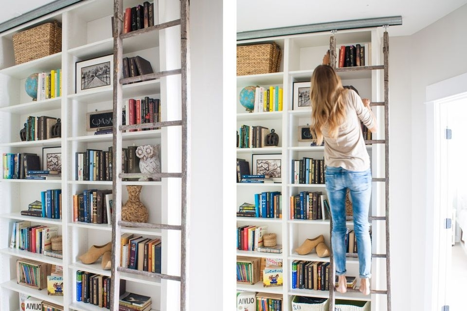 Ikea Billy Bookcases Throughout Well Known Ikea Hacks: The Best 23 Billy Bookcase Built Ins Ever (Gallery 15 of 15)