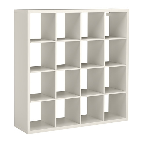 Ikea Cube Bookcases Regarding Most Current Kallax Shelf Unit – White – Ikea (View 4 of 15)