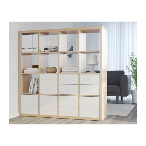explore gallery of ikea kallax bookcases showing 8 of 15 photos. Black Bedroom Furniture Sets. Home Design Ideas
