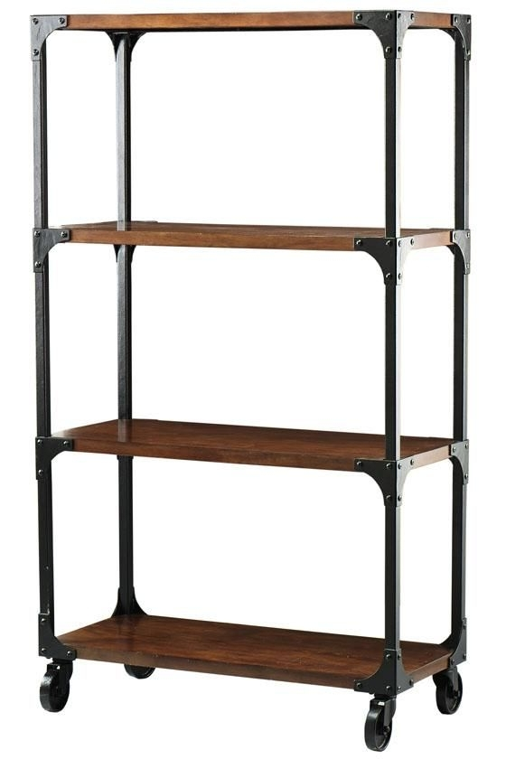 "Industrial Bookcases For Famous Industrial ""lofty Like"" Bookcase I Already Have The Metal Bc (View 6 of 15)"