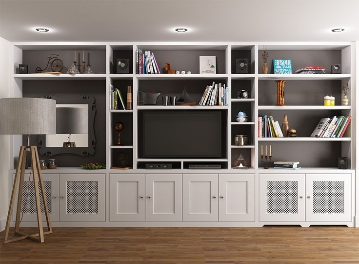 Industrial With Regard To Full Wall Shelving Units (View 9 of 15)