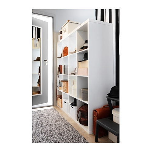 Kallax Shelving Unit White 147X147 Cm – Ikea Pertaining To Well Known Ikea Kallax Bookcases (Gallery 11 of 15)