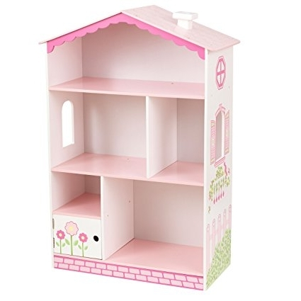 Kidkraft Bookcases Regarding Well Known Amazon: Kidkraft Dollhouse Cottage Bookcase: Toys & Games (Gallery 2 of 15)