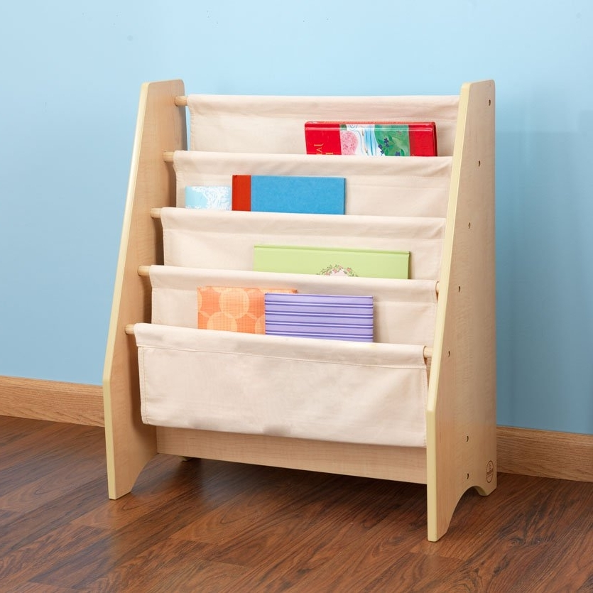 Kidkraft Bookcases Within Well Known Sling Bookshelf – Natural (View 8 of 15)