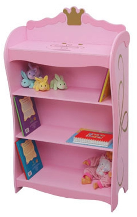 Kidkraft Princess Toddler Bookcase 76126 Pertaining To Best And Newest Kidkraft Bookcases (View 10 of 15)