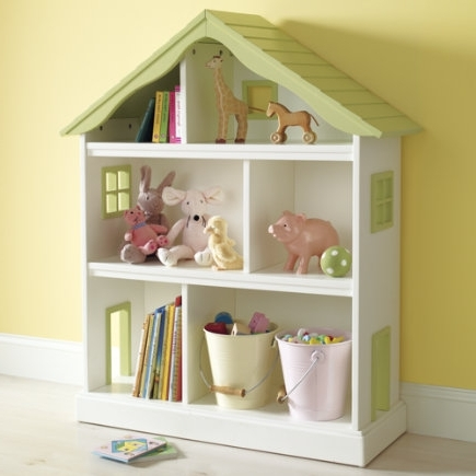 Land Of Nod Dollhouse – Bookcase Knockoff (View 9 of 15)