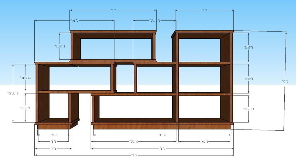 Large Bookcases Plans In 2018 Modular Bookshelf: 10 Steps (With Pictures) (View 11 of 15)