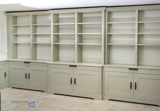 Large Cupboard With Shelves Pertaining To Well Liked Gorgeous Built In Cupboards In Your Living Room (View 8 of 15)