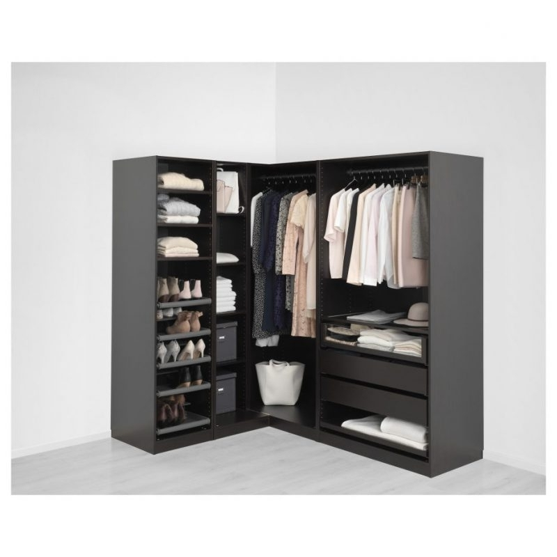 Large Double Rail Wardrobes Regarding Favorite Wardrobe Design : Ikea Closet Systems Online Design Build Shelves (View 15 of 15)