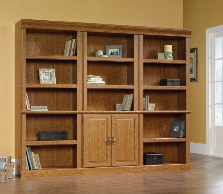Large Wood Bookcases With Glass Doorslarge Doors Wooden European Throughout Trendy Large Wooden Bookcases (View 6 of 15)