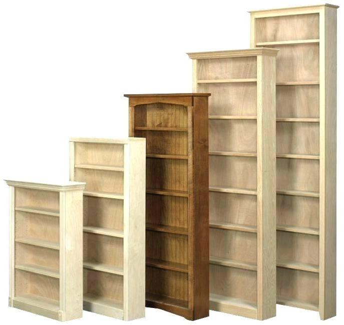 Large Wooden Bookcase White Bookcase Sale Large Size Of Unfinished With Regard To Popular Large Solid Wood Bookcases (View 5 of 15)