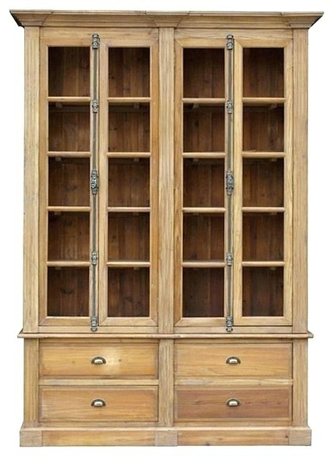 Large Wooden Bookcases Inside Fashionable Wooden Bookcases Large Size Of Cherry Wood Bookcase With Glass (View 9 of 15)
