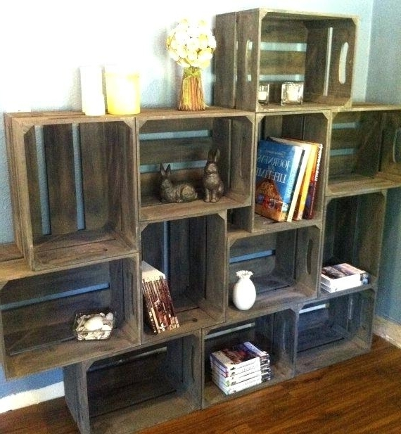 Large Wooden Bookcases Within Favorite Large Wooden Bookcase Wood Bookcases With Sliding Glass Doors (View 10 of 15)