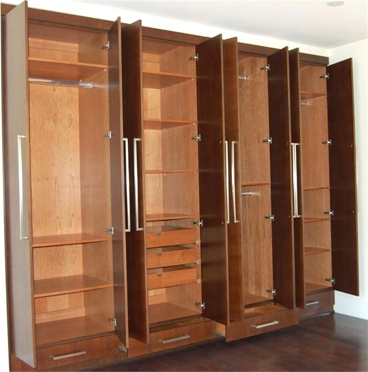 Large Wooden Wardrobes Pertaining To Recent Wardrobes ~ Solid Wood Wardrobes Online Solid Wood Sliding (View 7 of 15)