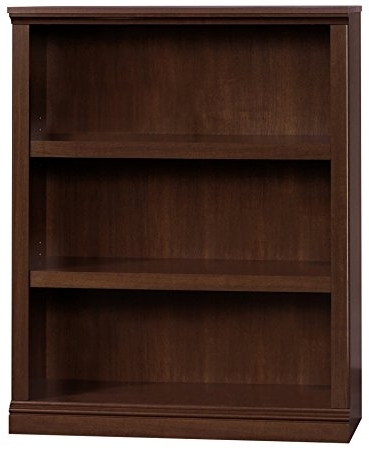 Latest Amazon: Sauder 412808 Sauder Select 3 Shelf Bookcase, Select Regarding 3 Shelf Bookcases (View 8 of 15)