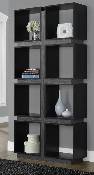 Latest Black Bookcases Pertaining To 7 Modern Black Bookcases For Your Office – Cute Furniture (View 5 of 15)
