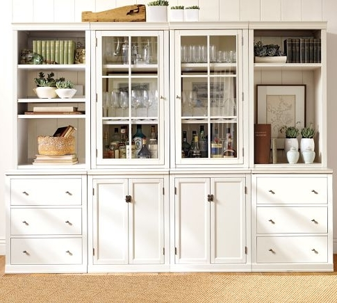 Latest Bookcases For A Home Office: Traditional White Vs (View 11 of 15)