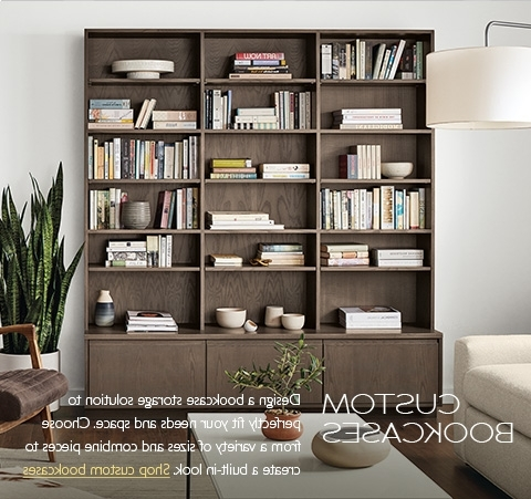 Latest Bookcases Throughout Modern Bookcases & Shelves – Modern Living Room Furniture – Room (View 11 of 15)