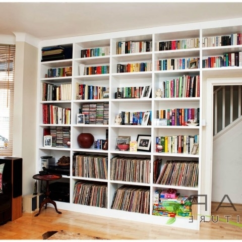 Latest Ƹӝʒ Bespoke Bookcase Ideas Gallery  (View 10 of 15)