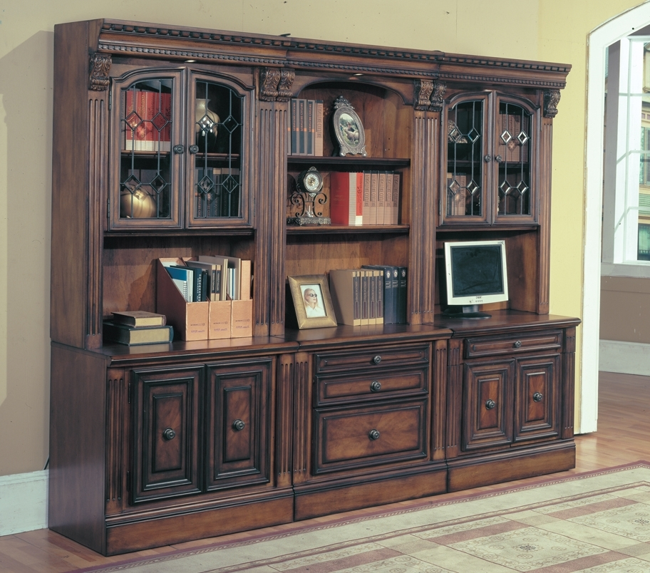 Latest Home Library Wall Units Intended For Home Library Wall Units – Wall Units Design Ideas : Electoral (View 7 of 15)