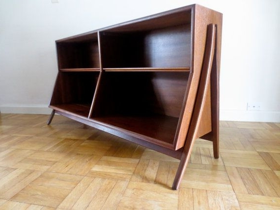 Latest Mid Century Bookcases Regarding Mid Century Modern Bookcase Bookshelfmodernredemption (View 14 of 15)